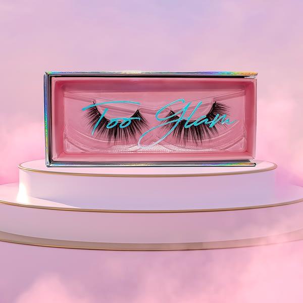 too glam lashbox holographic #guestlist
