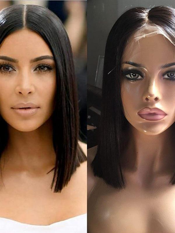 kim kardashian lace wig