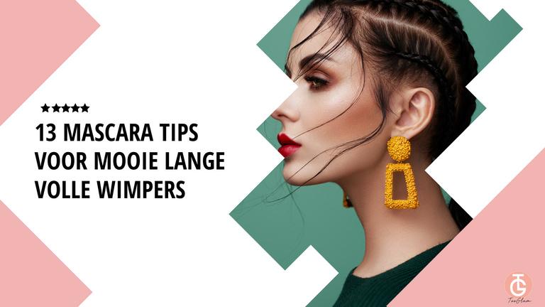 13 mascara tips voor mooie lange volle wimpers
