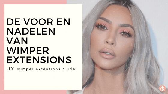 de voor en nadelen van wimper extensions 101 guide too glam shop